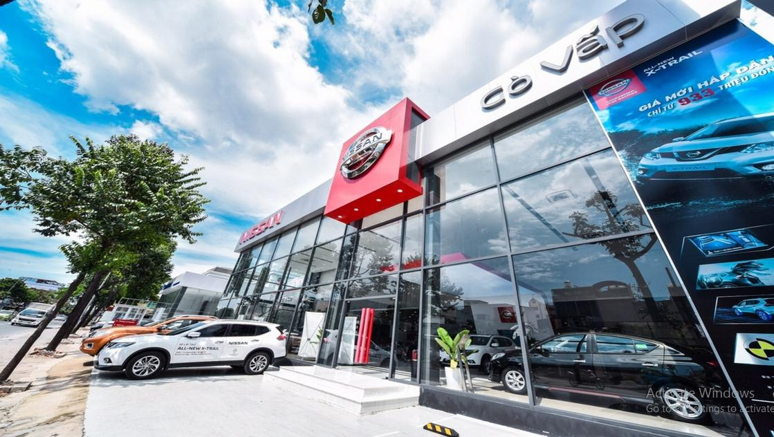 Showroom Nissan TP HCM